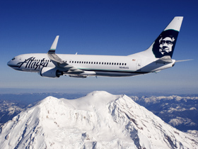 Two Alaska Airlines travel vouchers. Value: $1250 each