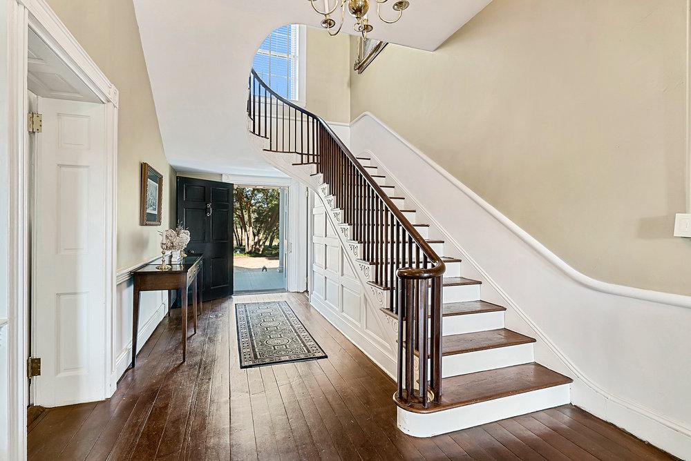 Back door open - stairs.JPG