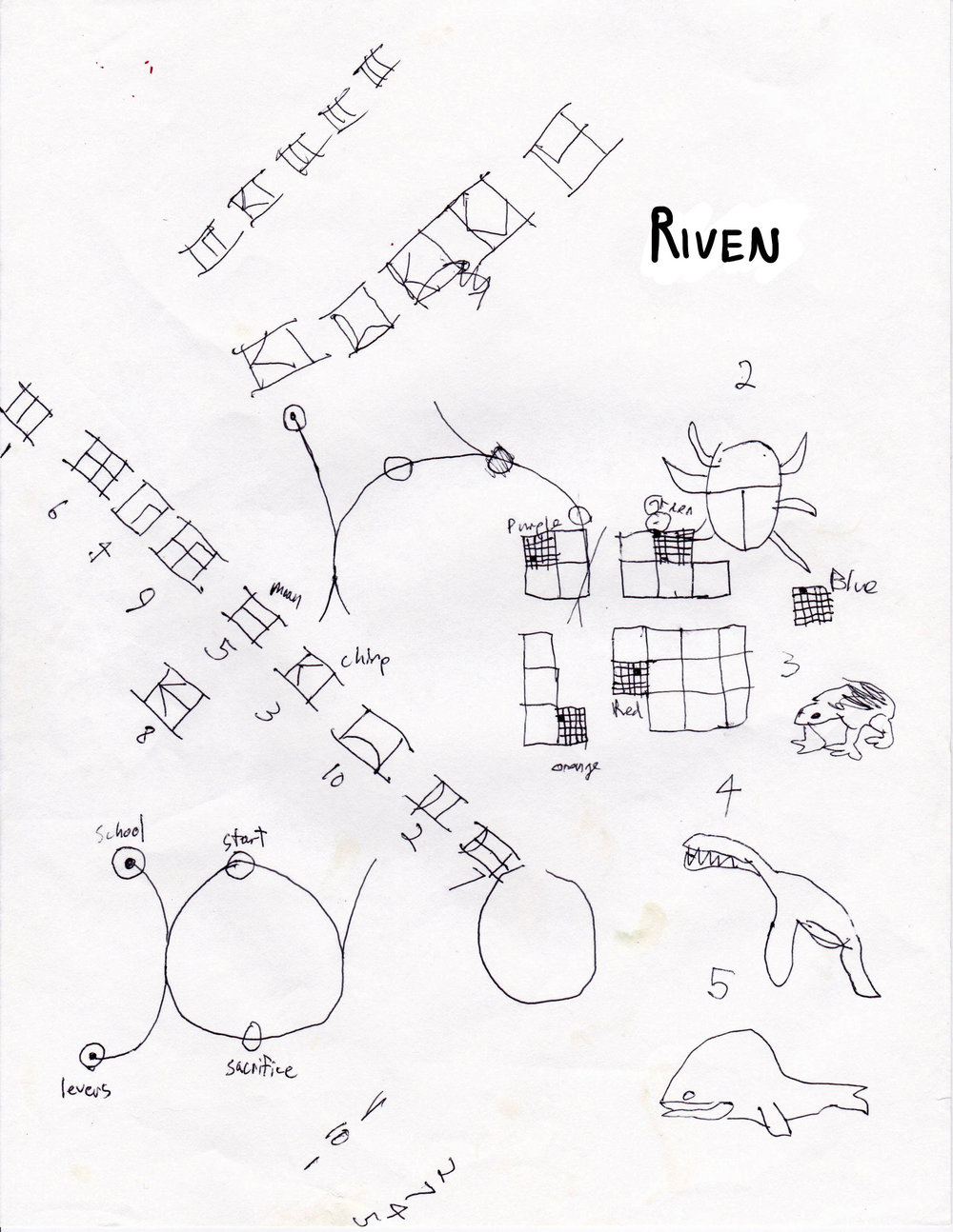 Riven, the sequel to Myst. Way more difficult to puzzle through than Myst, but the world and cultures they created were unforgettable.