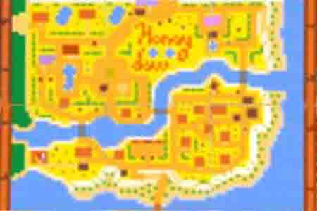 A map of Honeydew! Is that the Town's name spelled out in flowers?…