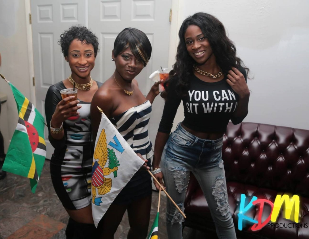 2014 Flag Party at the Premiure venue in the USVI The Lyme