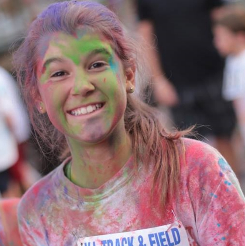 2014 Triatholon Jump Up which featured a Free Children Color Run.