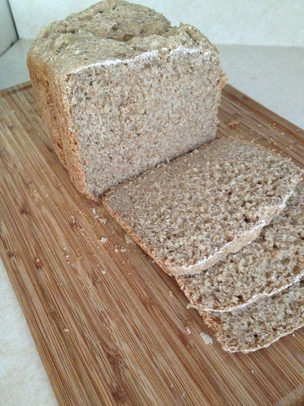 Vegan Whole Wheat Oat Bread