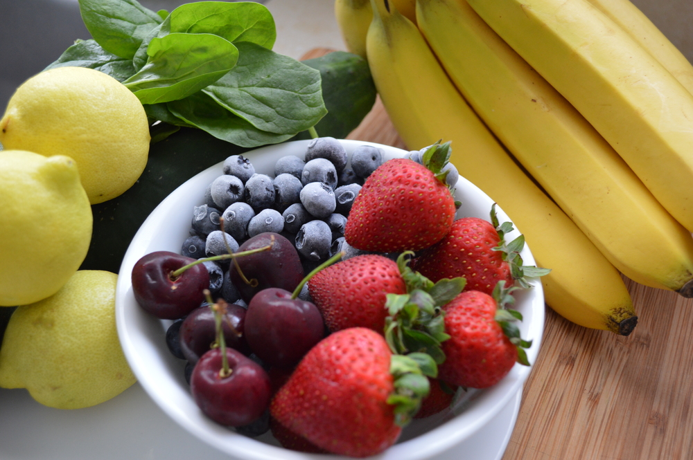 fruit bowl healthy eating