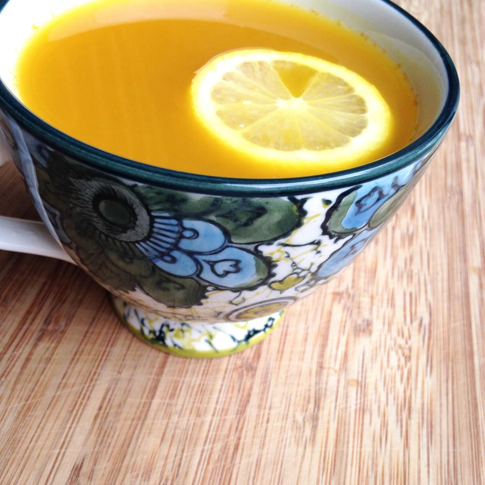 Turmeric Ginger Tea Recipe