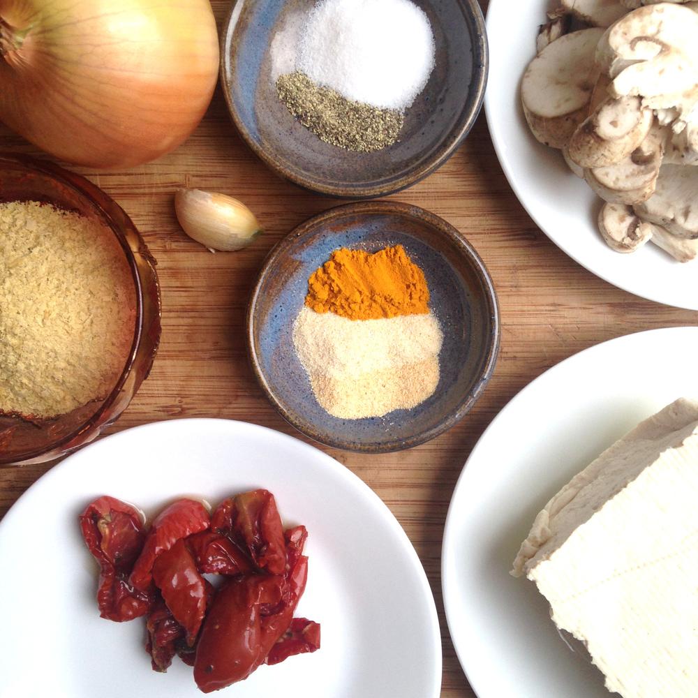 Vegan Tofu Scramble Recipe