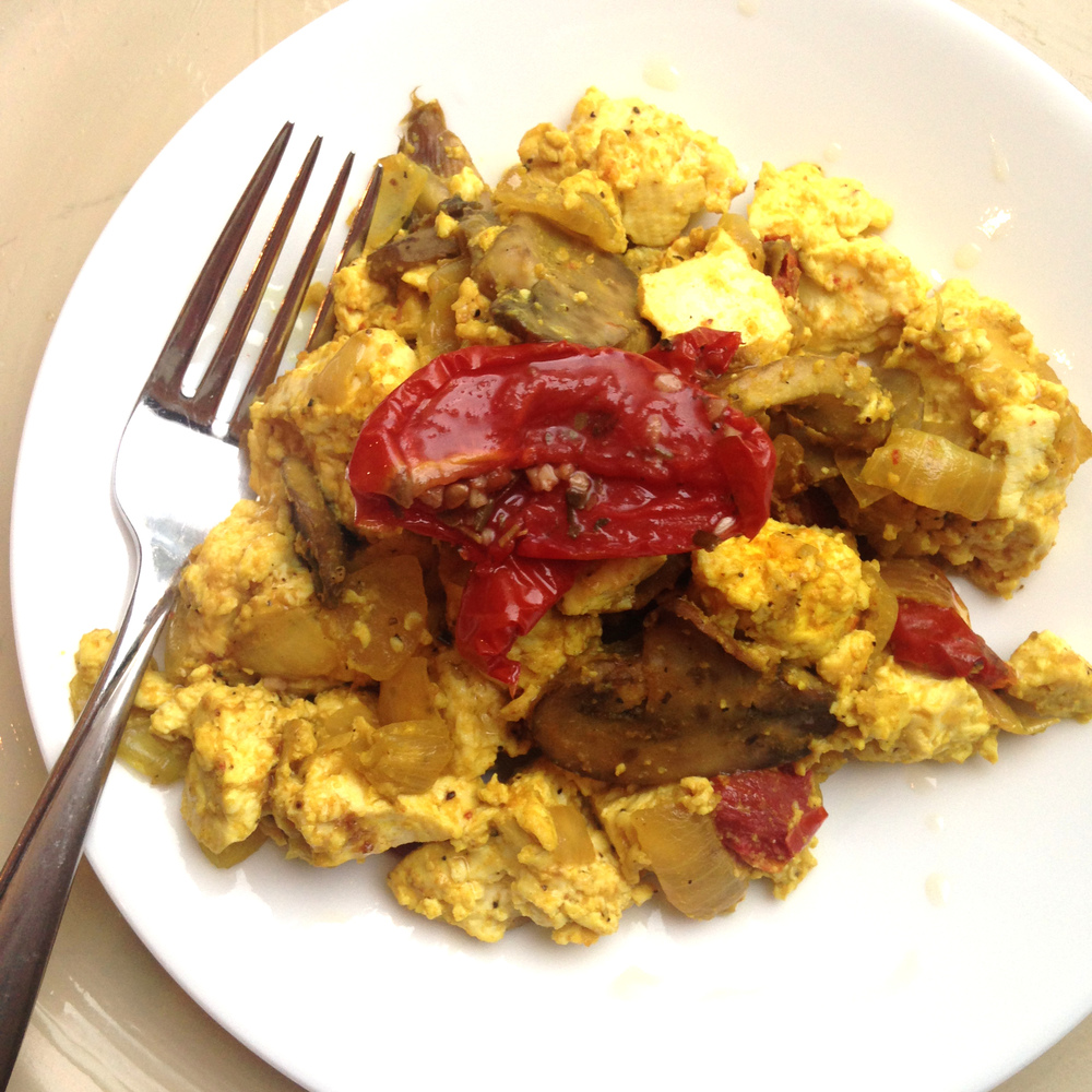 Vegan Tofu Scramble Recipe