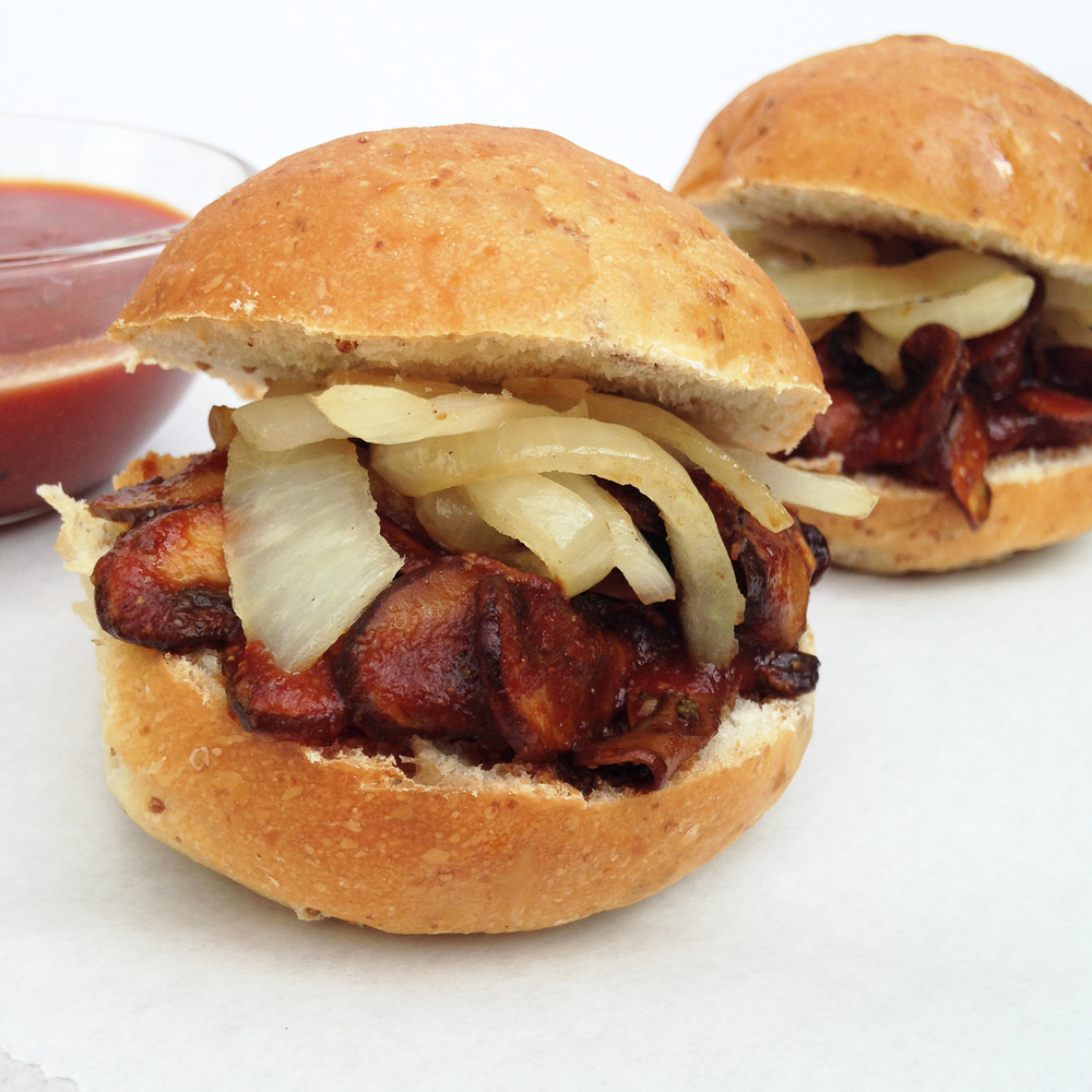 Vegan BBQ Sliders