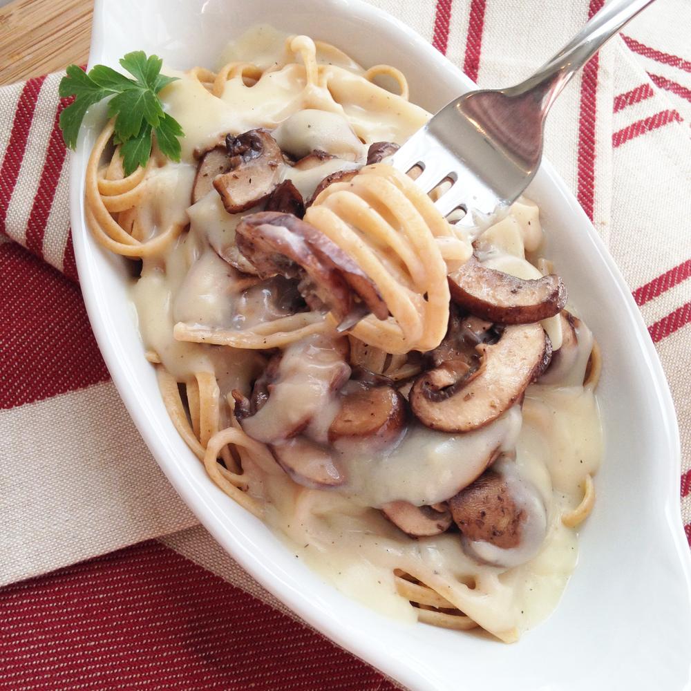 Creamy Mushroom Alfredo