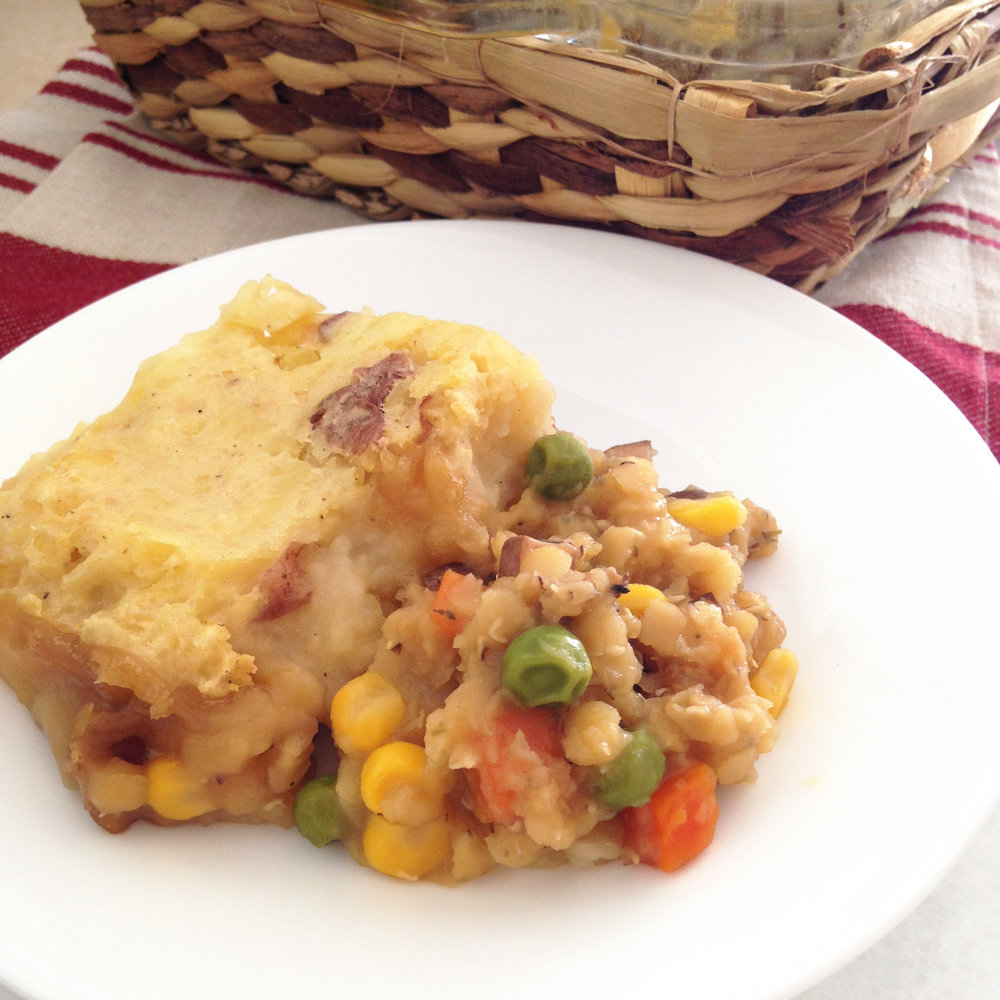Vegan Shepard Pie