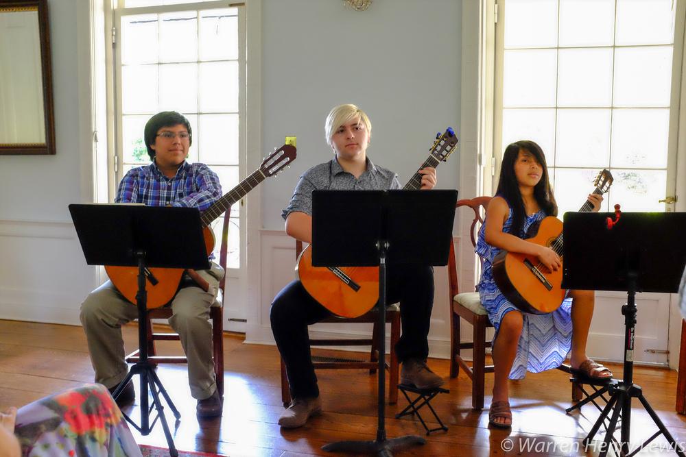 John Kyle Coniglio, Ben Lewis, and Amanda Coniglio