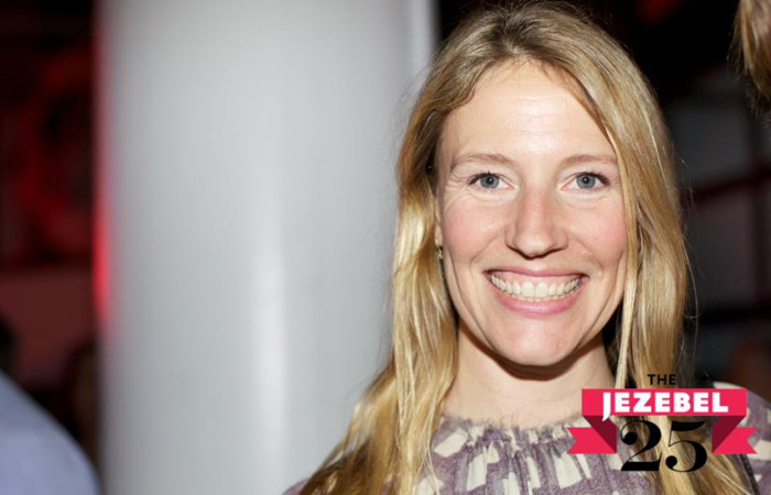 At the Jezebel 25 party at Highline Stages in NYC, June 2012