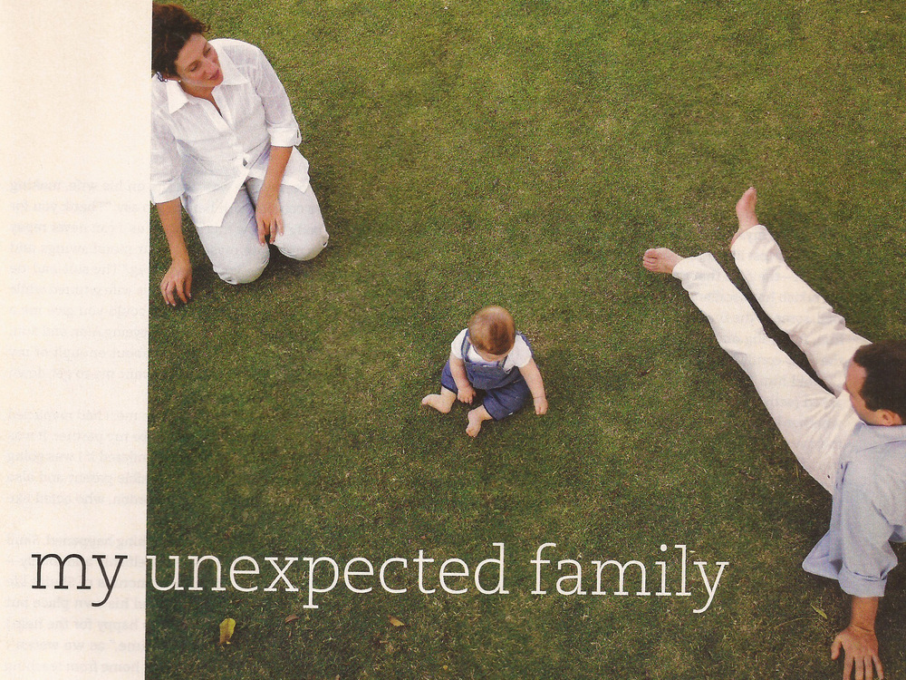 My Unexpected Family  Real Simple,  March 2008