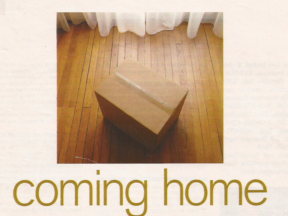 Coming Home Redbook Magazine, May 2007