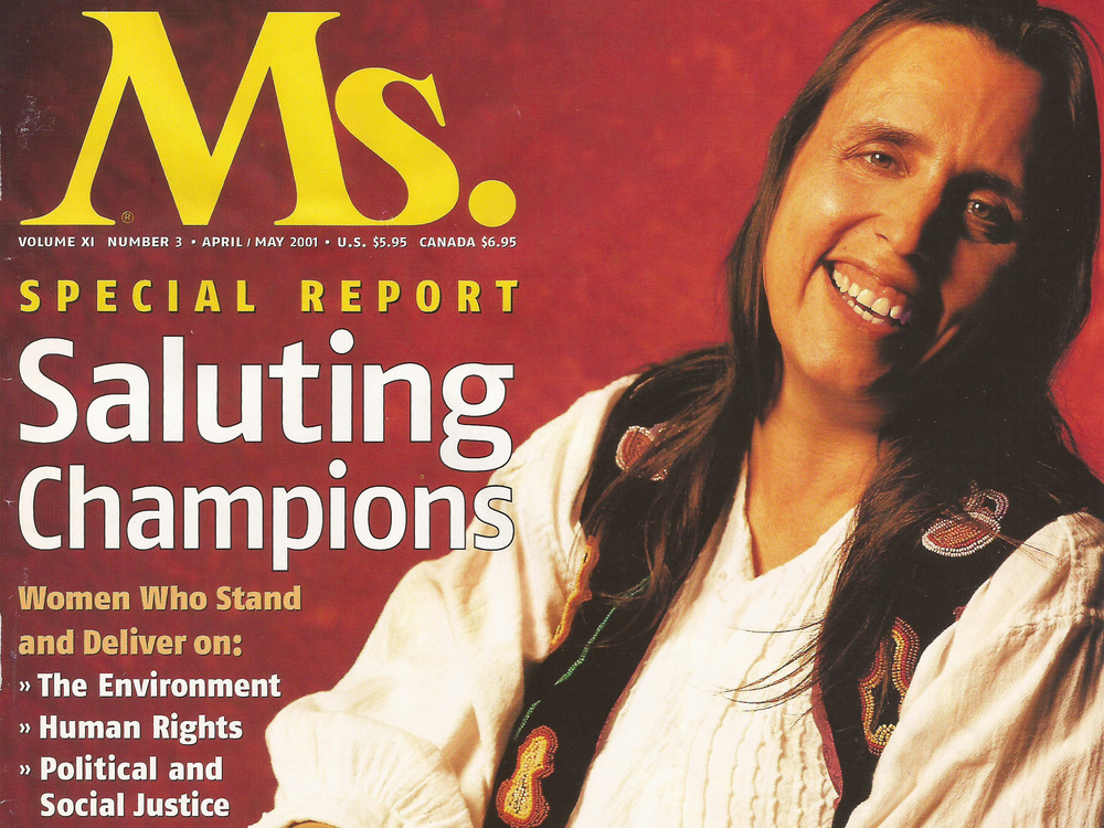 Winona LaDuke Ms. Magazine, April 2001
