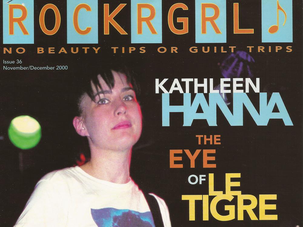 Kathleen Hanna Rockrgrl, November 2000
