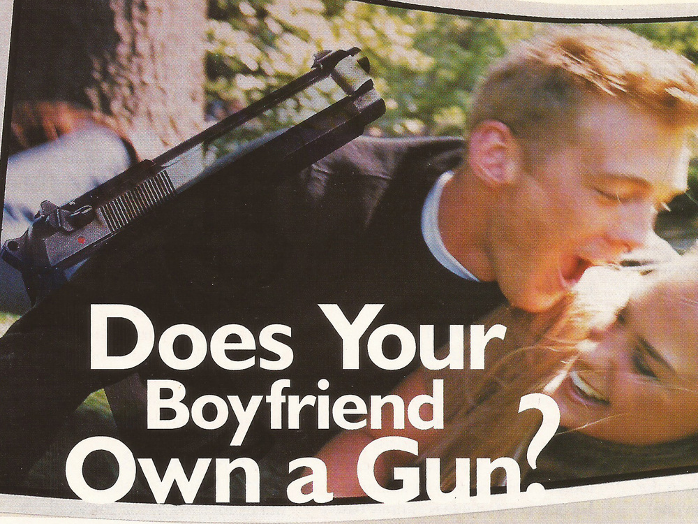 Does Your Boyfriend Own a Gun?  Mademoiselle , 2000