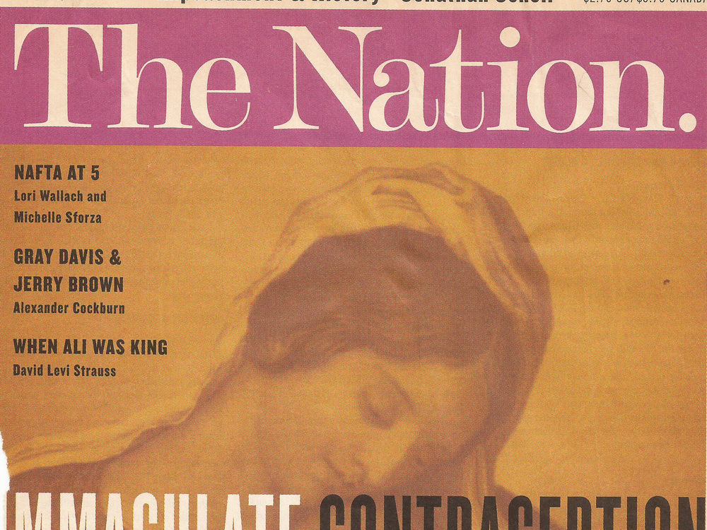 Immaculate Contraception The Nation, 1/25/99