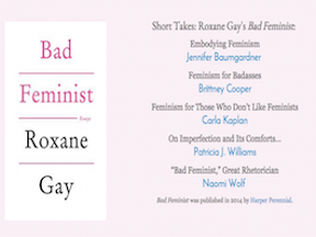 Short Takes: Roxane Gay's Bad Feminist, Signs Journal, June 2015