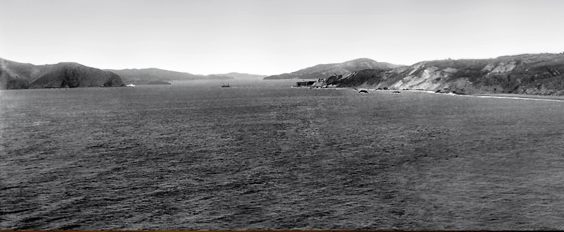 Golden Gate from Lands End, San Francisco -- Credit: Frank R. Tindell