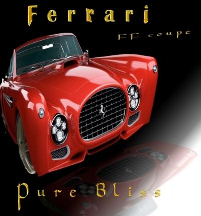 Red Ferrari poster BlissC.jpg