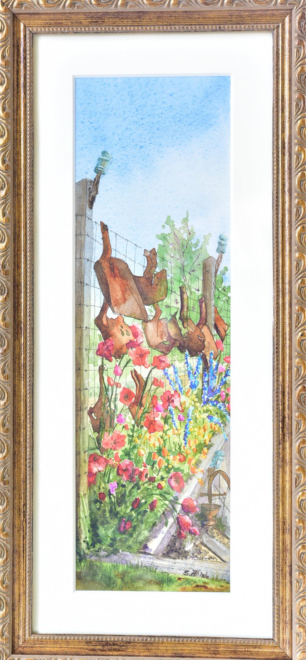 "Miniature  Susan Thiele   ""Tony's Garden"""