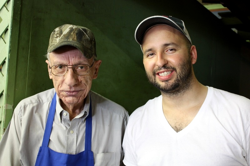 Monroe Schubert (RIP) of Prause Meat Market and I.