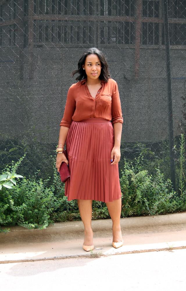 asos-coated-pleated-midi-skirt-jcrew-blythe-silk-blouse-zara-asymmetrical-pumps.jpg