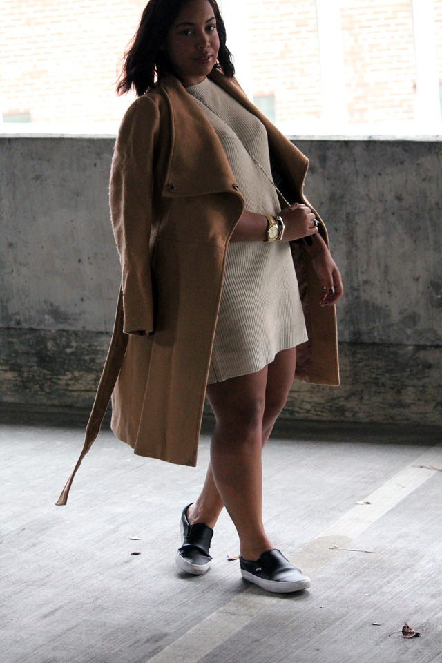 2-forever-21-sweater-dress-asos-funnel-neck-camel-coat-vans-slip-on-sneakers.jpg