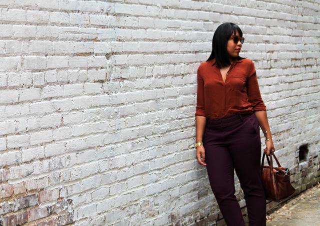 7-Loft-pencil-pants-in-marisa-fit-jcrew-silk-blouse-shoemint-pump-madewell-camden-satchel.jpg