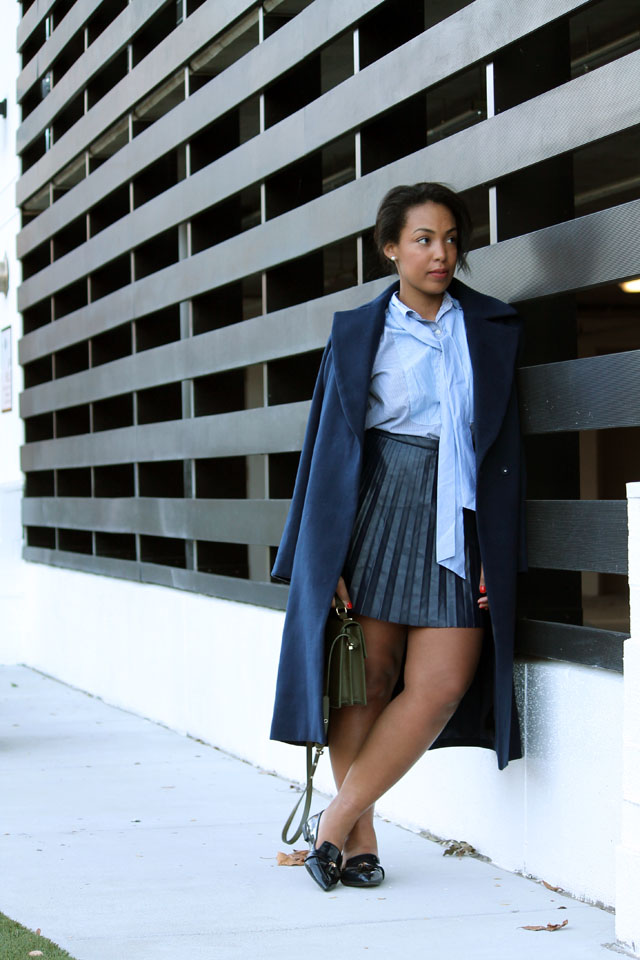 3-jcrew-navy-leather-pleated-skirt-stripe-pussybow-blouse-zara-pointed-toe-loafers-cameo-collective-true-lust-wool-coat.jpg
