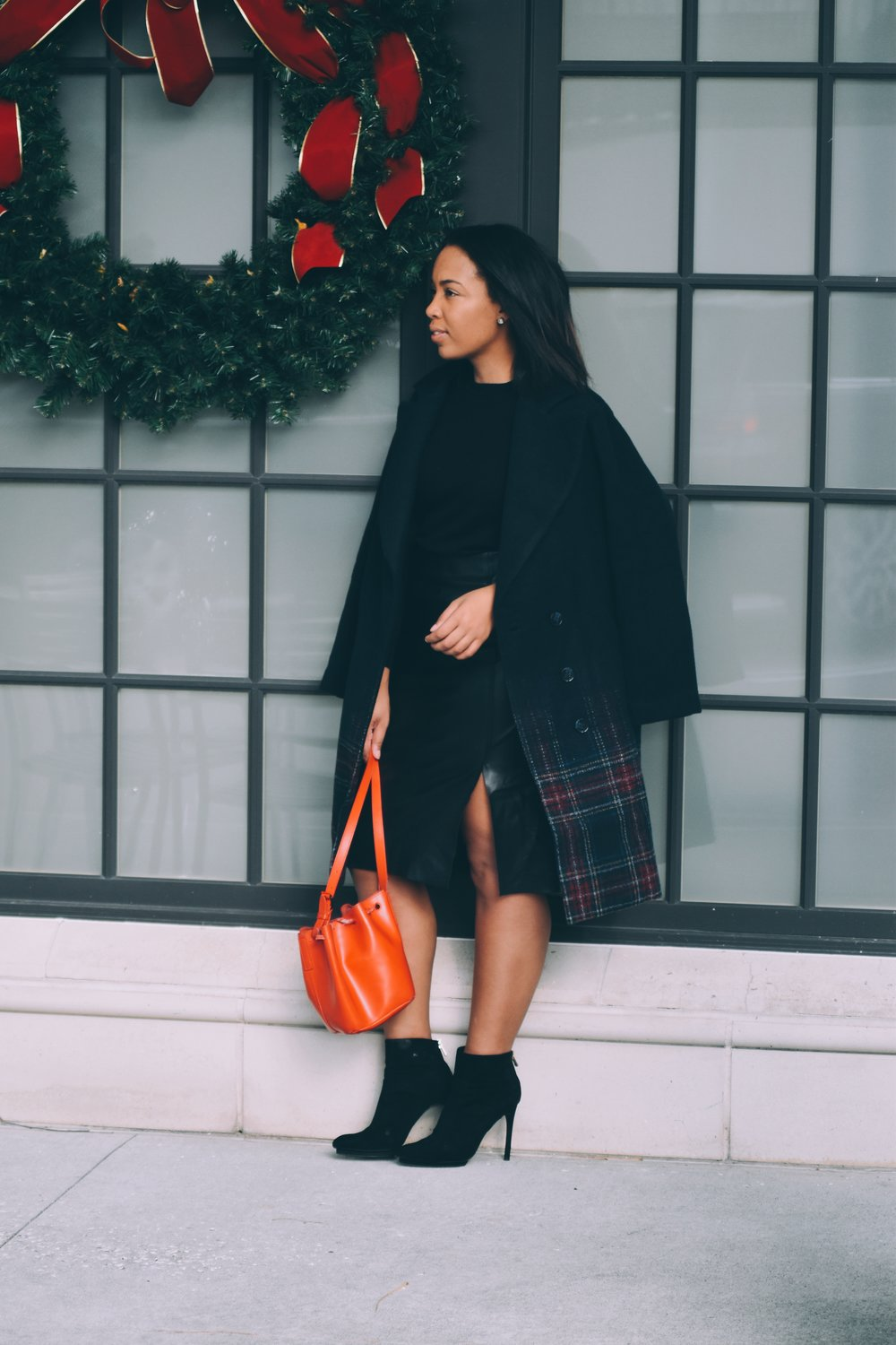 5-asos-plaid-ombre-coat-LOFT-leather-pencil-skirt-zara-platform-booties-gap-merino-wool-crewneck-sweater-fall-womens-fashion-holiday-fashion.JPG