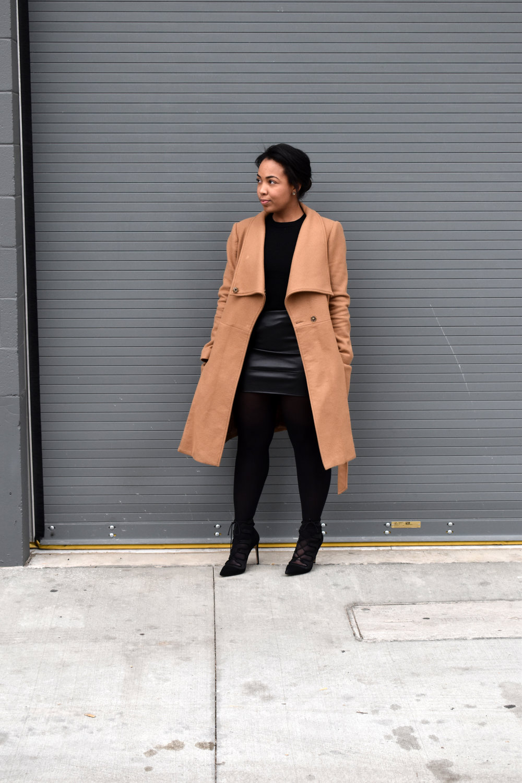 5-ASOS-leather-mini-skirt-gap-merino-crewneck-sweater-ASOS-camel-funnel-neck-coat.jpg