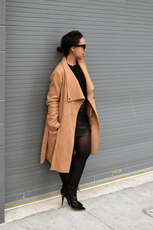 4-ASOS-leather-mini-skirt-gap-merino-crewneck-sweater-ASOS-camel-funnel-neck-coat.jpg