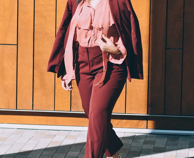 3-asos-burgundy-suit-asos-pink-ruffle-blouse-nine-west-snakeskin-pumps-workwear-fashion-suit.jpg