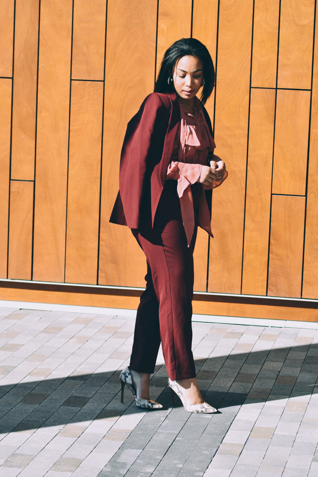 9-asos-burgundy-suit-asos-pink-ruffle-blouse-nine-west-snakeskin-pumps-workwear-fashion-suit.jpg