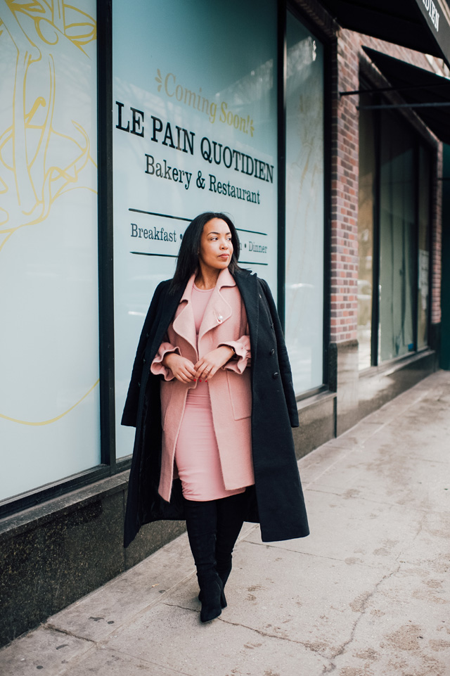 2-chicwish-blush-pink-coat-forever-21-pencil-dress-asos-black-coat-black-over-the-knee-boot-nyfw-streetstyle.jpg