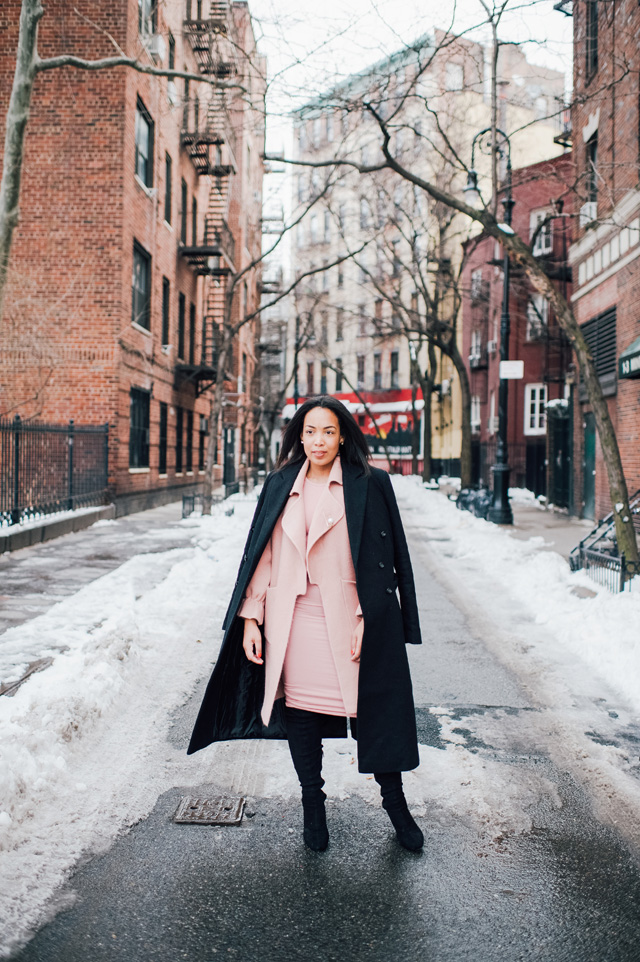 4-chicwish-blush-pink-coat-forever-21-pencil-dress-asos-black-coat-black-over-the-knee-boot-nyfw-streetstyle.jpg