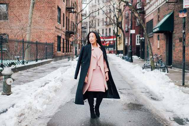 5-chicwish-blush-pink-coat-forever-21-pencil-dress-asos-black-coat-black-over-the-knee-boot-nyfw-streetstyle.jpg