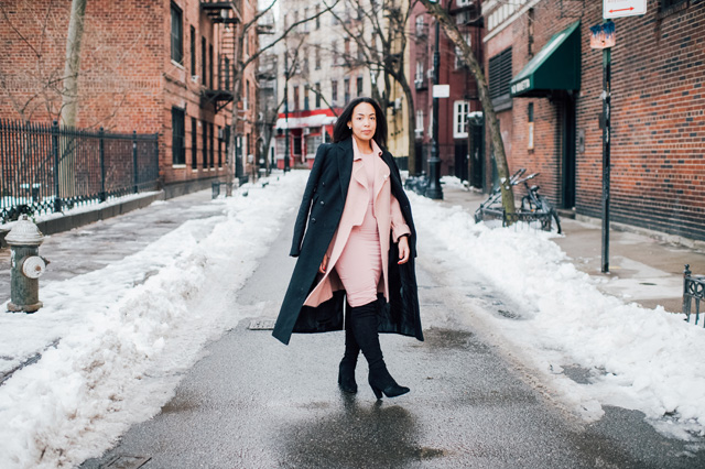 6-chicwish-blush-pink-coat-forever-21-pencil-dress-asos-black-coat-black-over-the-knee-boot-nyfw-streetstyle.jpg