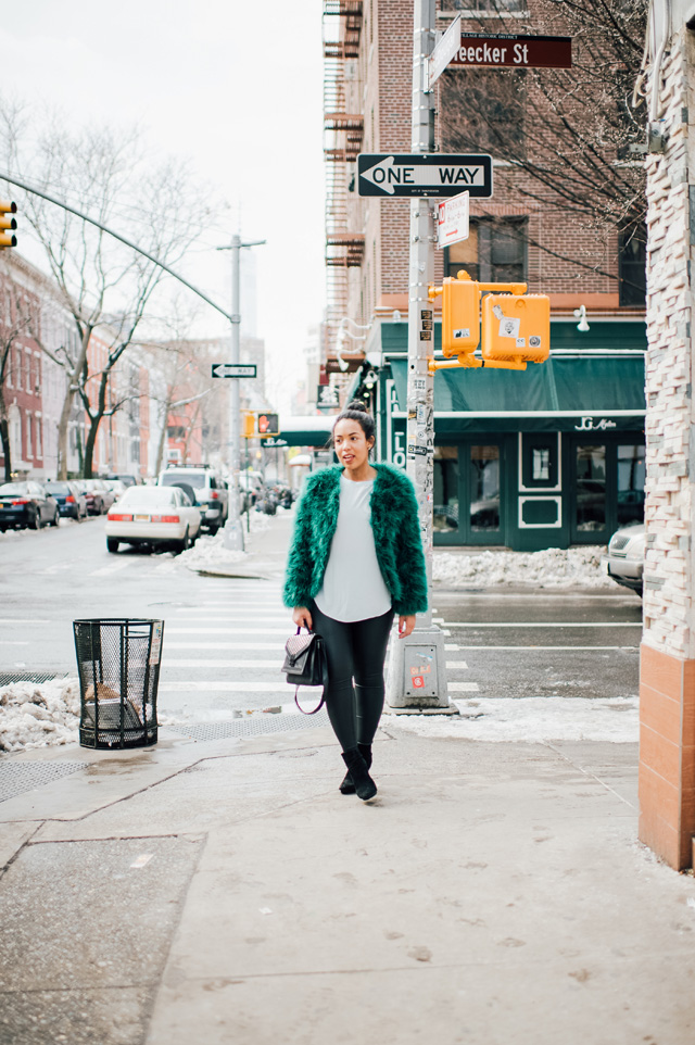 4-robinson-style-shop-emerald-faux-fur-jacket-faux-leather-pant-lou-and-grey-blouse-zara-booties-loeffler-rendall-studded-rider-bag-nyfw-streetstyle.jpg