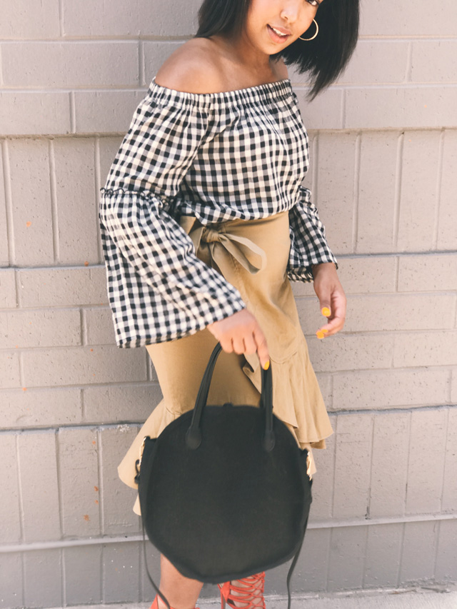 who-what-wear-collection-for-target-gingham-check-off-the-shoulder-blouse-ruffle-wrap-skirt-round-straw-handbag-8.jpg