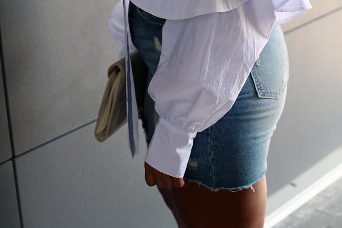 Robinson-Style-Shop-Oversized-Ruffle-Blouse-Gap-Denim-Mini-Skirt-Forever-21-leather-lace-up-sandals-Forever-21-ball-hoop-earrings-7.jpg