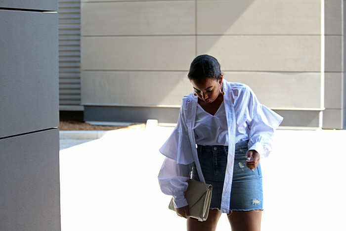 Robinson-Style-Shop-Oversized-Ruffle-Blouse-Gap-Denim-Mini-Skirt-Forever-21-leather-lace-up-sandals-Forever-21-ball-hoop-earrings-11.jpg
