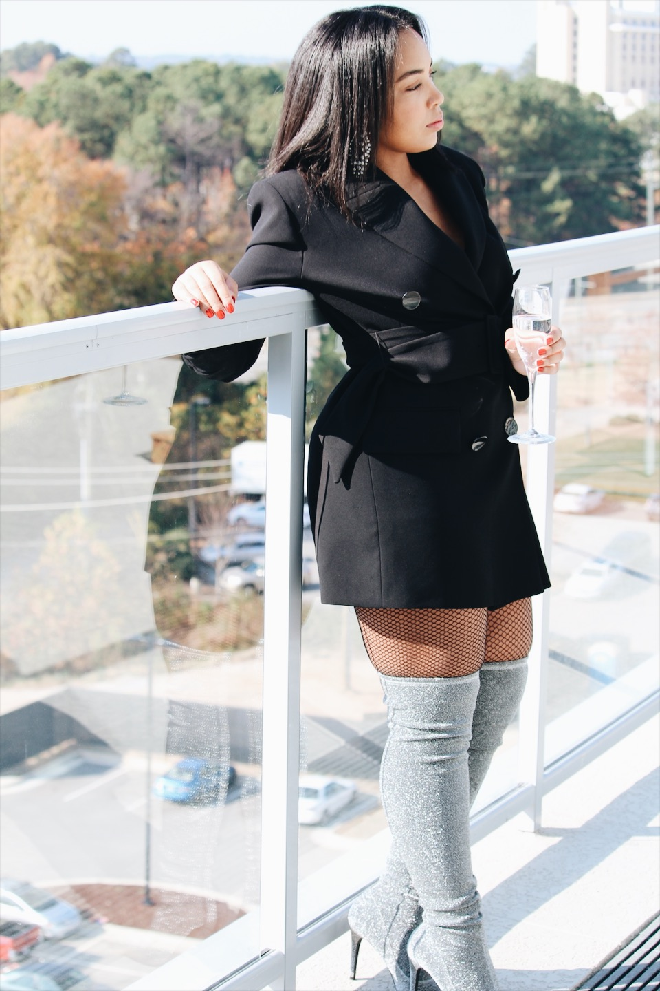 holiday-lookbook-zara-blazer-dress-fishnet-tights-silver-glitter-over-the-knee-otk-boots-statement-earrings-christmas-new-year-fashion-and-style-8.JPG