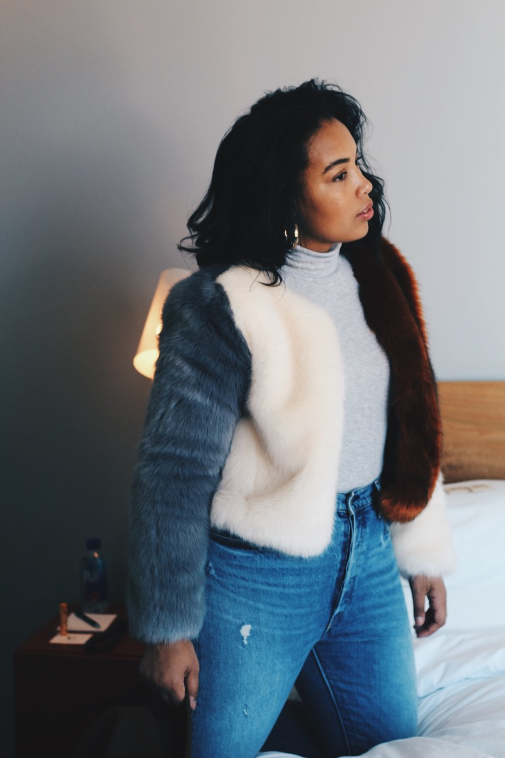 Durham-Hotel-Robinson-Style-rent-the-runway-line-and-dot-faux-fur-coat-levi-501s-zara-zip-booties-goorin-brothers-hat-aerie-turtleneck-bodysuit-6.JPG