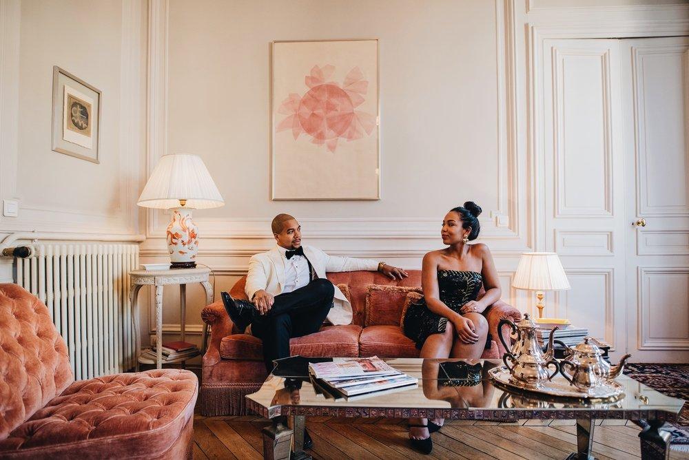 engagement-shoot-destination-paris-the-black-tux-review-asos-design-sequin-tux-beaded-dress-heart-earrings-15.JPG