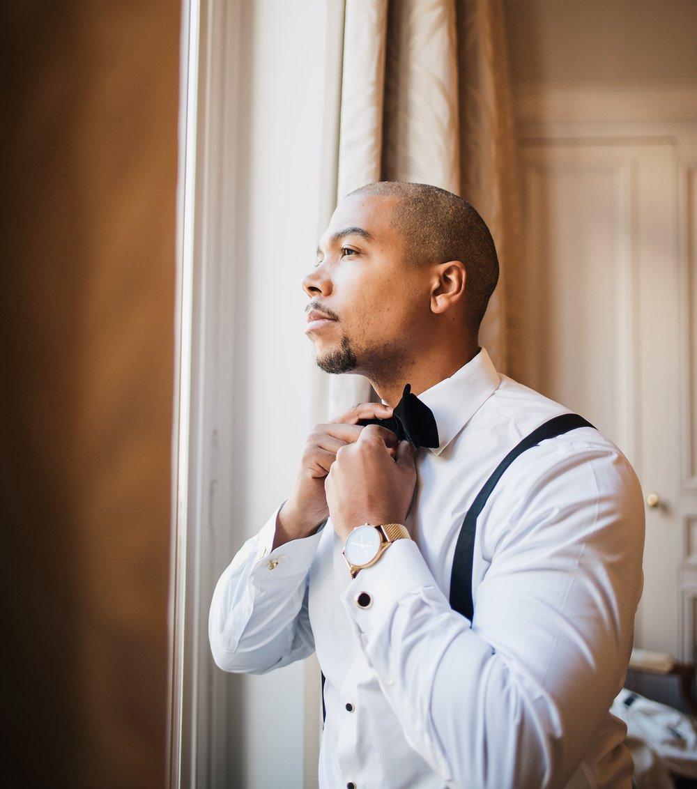 engagement-shoot-destination-paris-the-black-tux-review-asos-design-sequin-tux-beaded-dress-heart-earrings-6.JPG