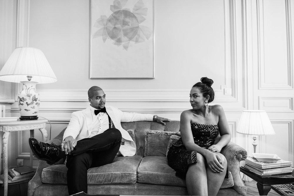 engagement-shoot-destination-paris-the-black-tux-review-asos-design-sequin-tux-beaded-dress-heart-earrings-7.JPG