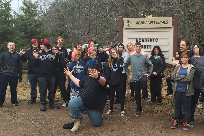 Annual Audubon Center of the North Woods trip.